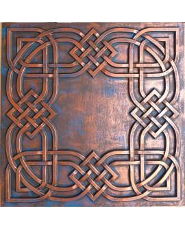 2x2 Ceiling tiles Faux Tin rustic copper color PL61 10pcs/lot