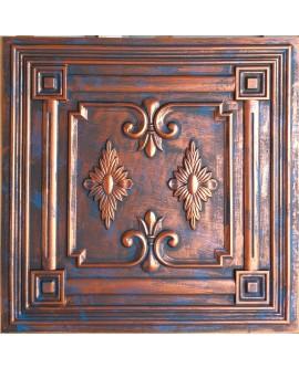 2x2 Ceiling tiles Faux Tin rustic copper color PL63 10pcs/lot