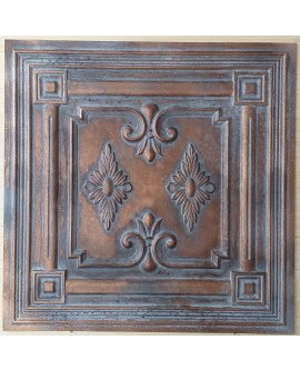 Ceiling tiles Faux vintage painted weathering copper color PL63 10pc/lot
