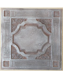 Amercian Ceiling tiles Faux Tin weathered iron color PL65 10pcs/lot