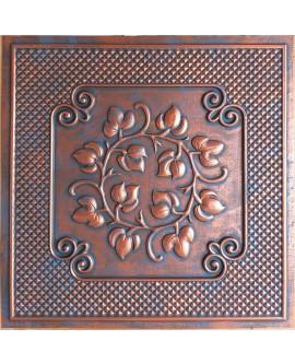 2x2 Ceiling tiles Faux Tin rustic copper color PL66 10pcs/lot