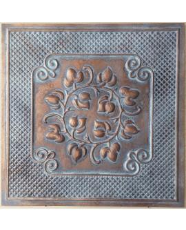 Ceiling tiles Faux vintage painted weathering copper color PL66 10pc/lot