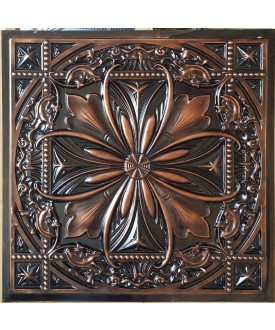 Ceiling tiles Faux paint palaeo copper color PL10 pack of 10pcs