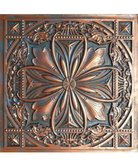 2x2 Ceiling tiles Faux Tin rustic copper color PL10 10pcs/lot