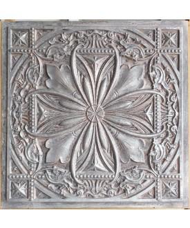 24x24 Ceiling tiles Faux Tin weathered iron color PL10 10pcs/lot