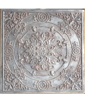24x24 Ceiling tiles Faux Tin weathered iron color PL18 10pcs/lot