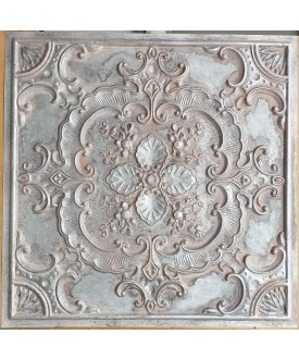 24x24 Ceiling tiles Faux Tin weathered iron color PL19 10pcs/lot