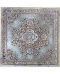 Amercian Ceiling tiles Faux Tin weathered iron color PL08 10pcs/lot
