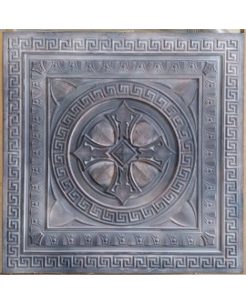 Tin ceiling tiles 3D embossing cafe club Ceiling Wallpaper PL01 pack of 10pcs