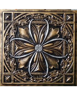 Tin ceiling tile false paint Archaic copper602 PL10 pack of 10pcs