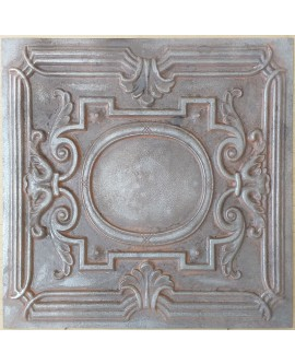 Amercian Ceiling tiles Faux Tin weathered iron color PL15 10pcs/lot
