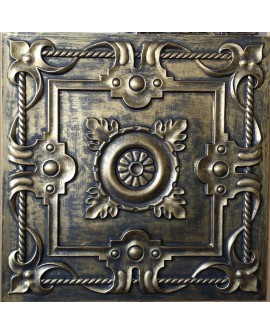 Tin ceiling tiles artistic ancient gold color bar wall panel PL29 pack of 10pcs