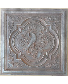 Amercian Ceiling tiles Faux Tin weathered iron color PL39 10pcs/lot