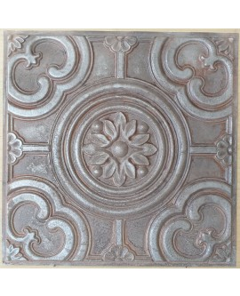 Amercian Ceiling tiles Faux Tin weathered iron color PL50 10pcs/lot