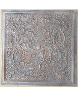 Amercian Ceiling tiles Faux Tin weathered iron color PL62 10pcs/lot