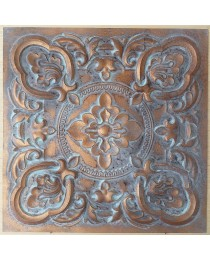 Ceiling tiles Faux vintage painted weathering copper color PL30 10pc/lot