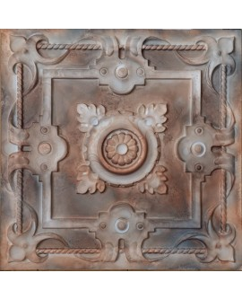 Tin ceiling tiles artistic washed brown color bar wall panel PL29 pack of 10pcs