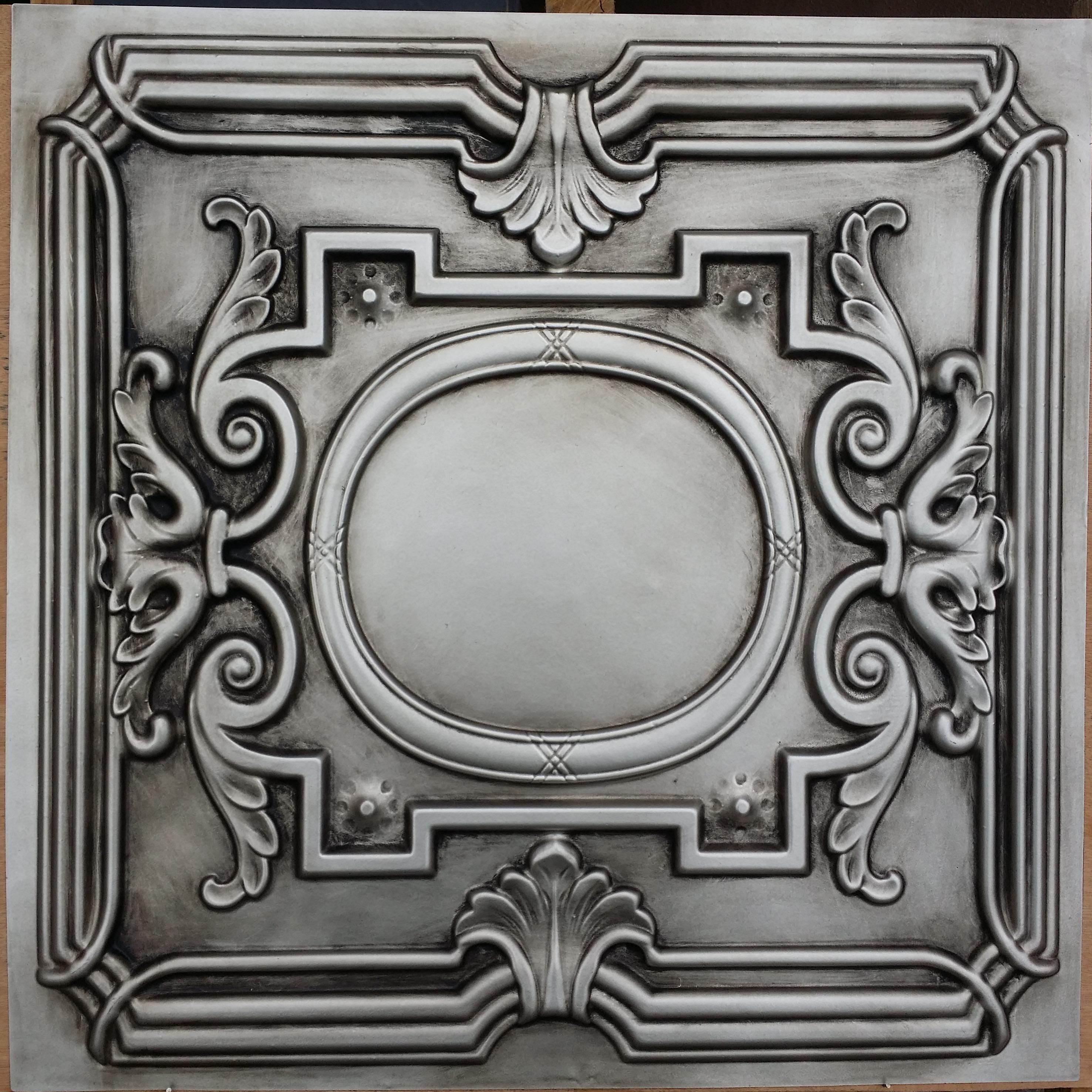 PL15 Antique silver